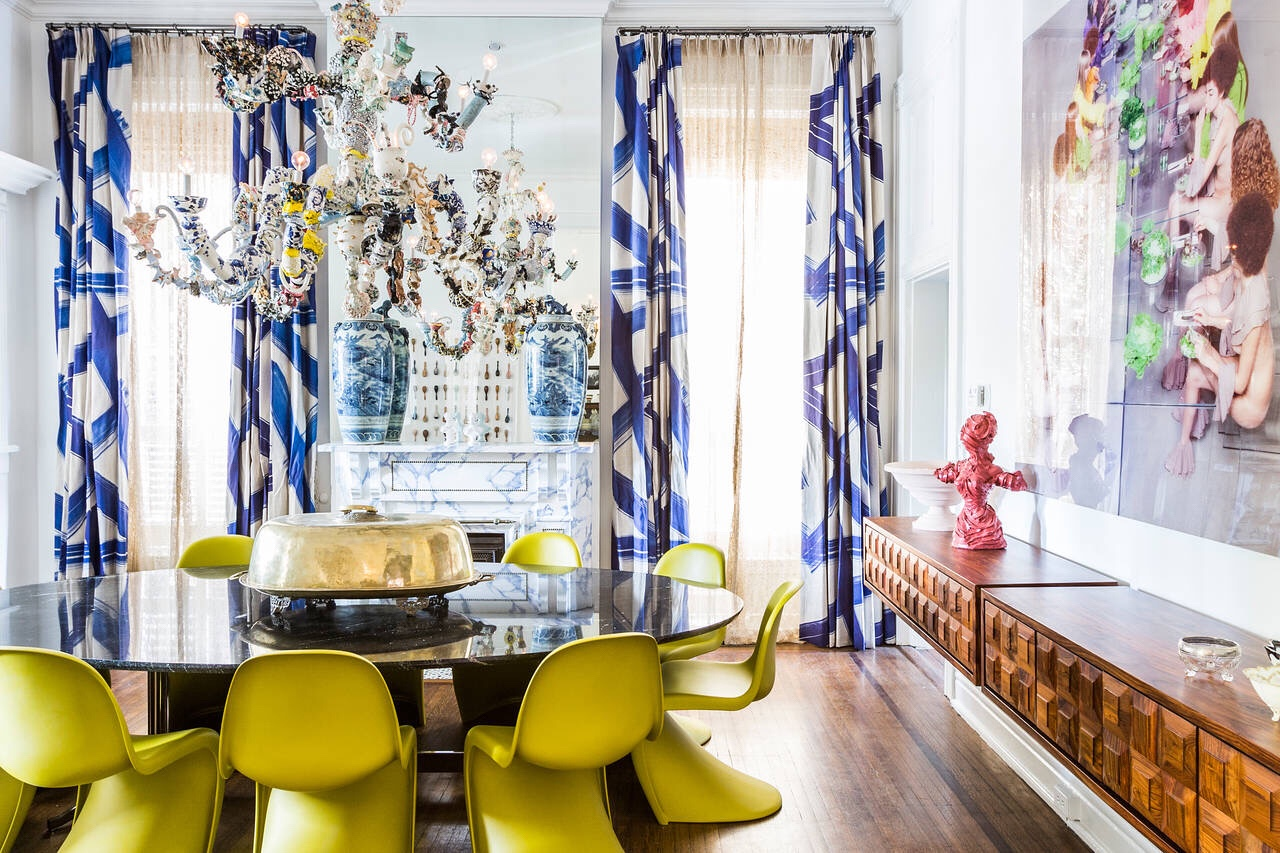 So Crazy It Works: A Very Bold Update of a Grand Victorian – WSJ